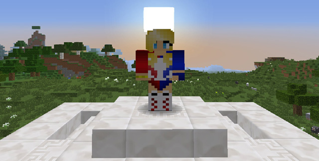 Harley Quinn in Minecraft